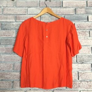 🌼5 for $25 sale🌼 Club Monaco orange blouse